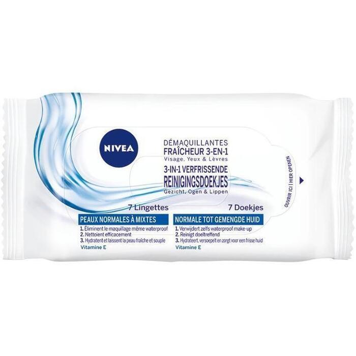 Nivea Reinigingsdoekjes normale/gemengde huid