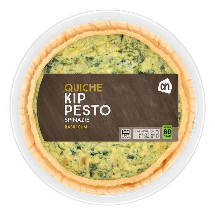AH Quiche kip pesto (300g)