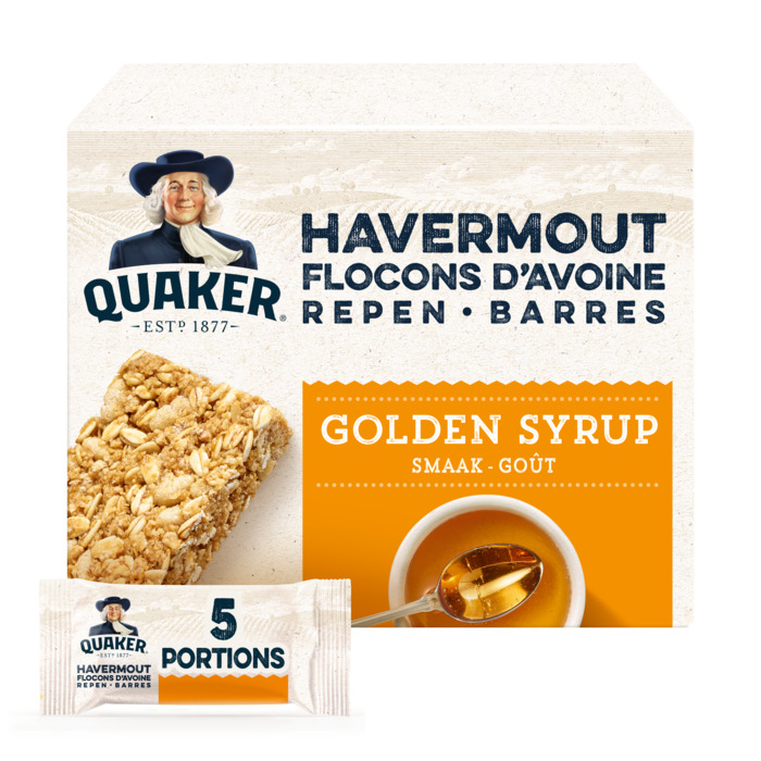 Havermout Repen Golden Syrup Smaak (doos, 5 × 175g)