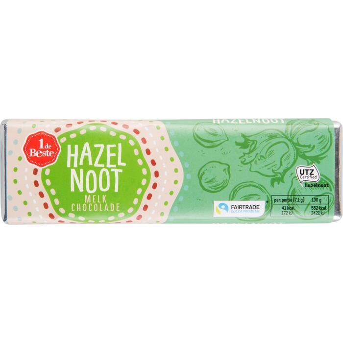 Chocoladereep hazelnoot (100g)