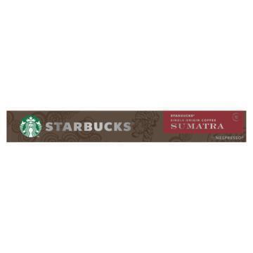 Starbucks® Single-Origin Coffee Sumatra by Nespresso® Dark Roast 10 Capsules (55g)