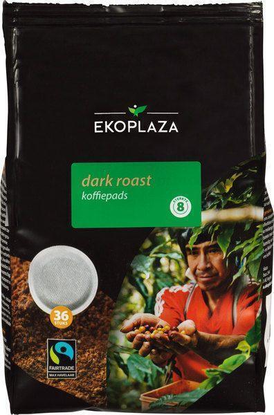 Dark roast koffiepads (zak, 36 st.)