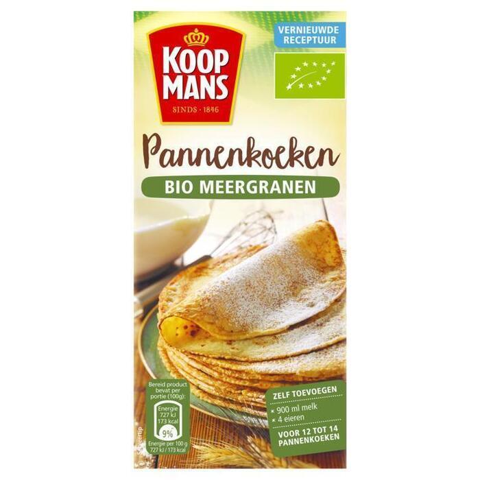 Koopmans Mix voor bio pannenkoeken (400g)