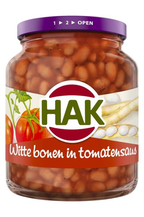 Witte Bonen in Tomatensaus (Stuk, 360g)