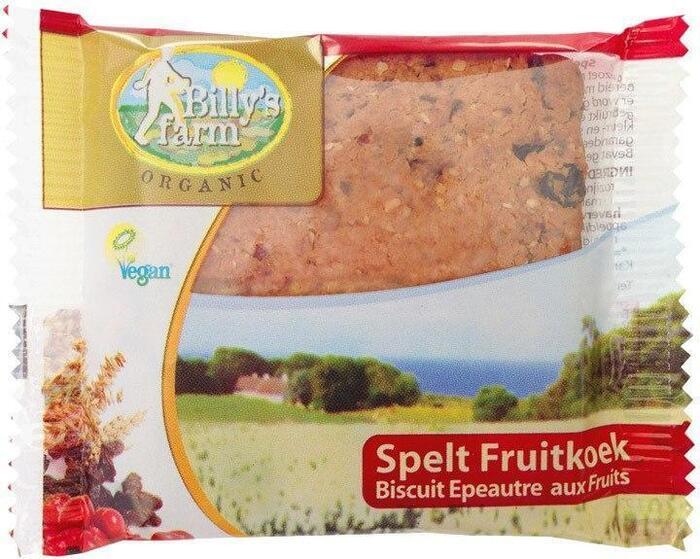 Spelt Fruitkoek (1 stuks) (50g)