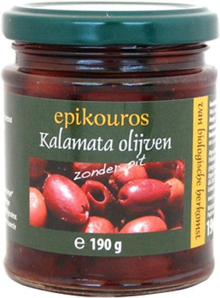 Kalamata olijven pitloos (190g)