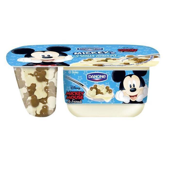 Danone Vanille Yoghurt Mickey Mouse (120g)