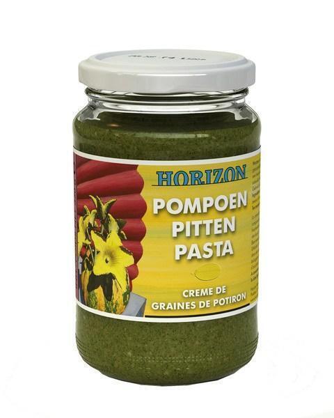 Pompoenpittenpasta (pot, 350g)