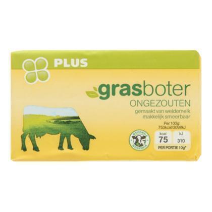 Grasboter ongezouten (250g)