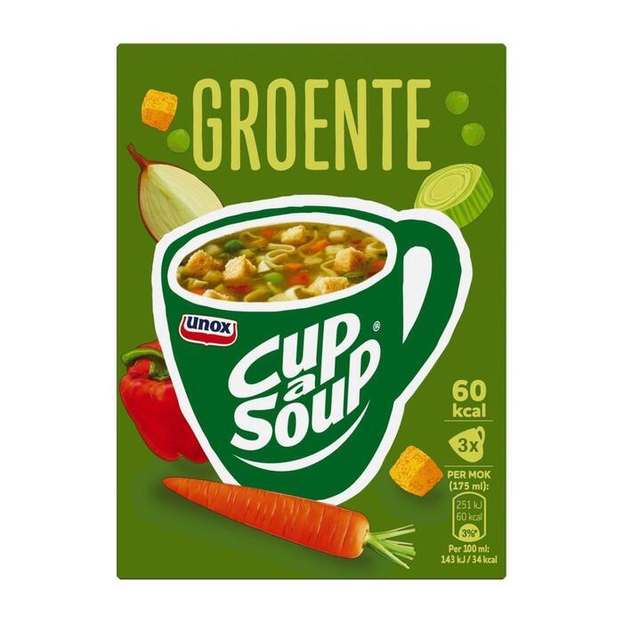 Unox Cup-A-Soup Groente (3 × 16g)