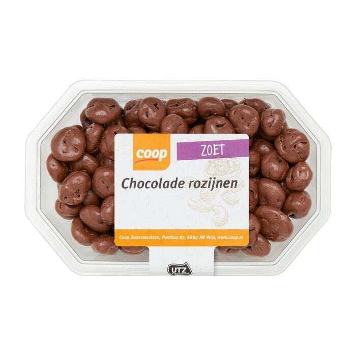 Chocolade rozijnen melk (225g)