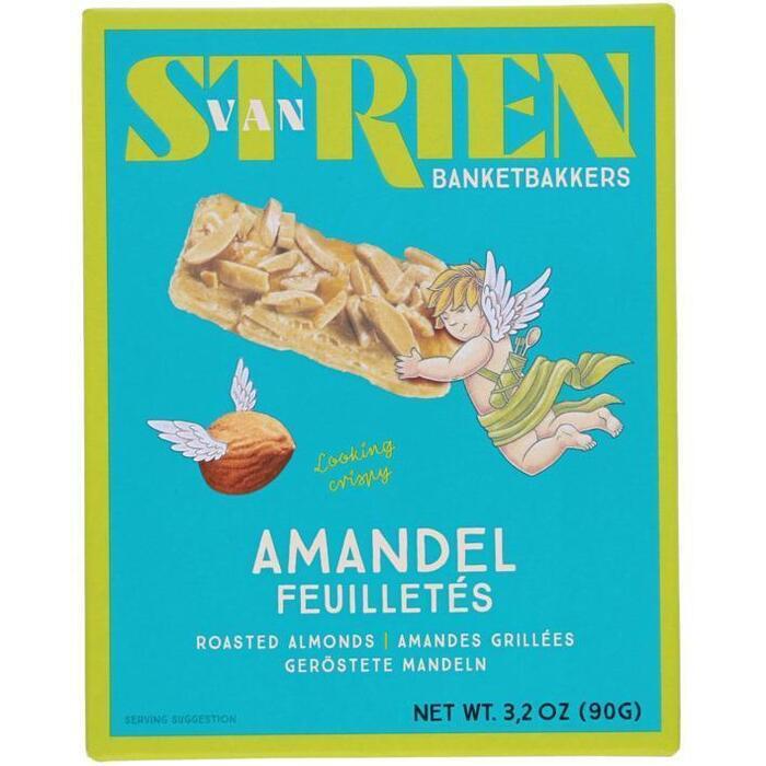 Van Strien handmade Roomboter amandel feuilleté (90g)