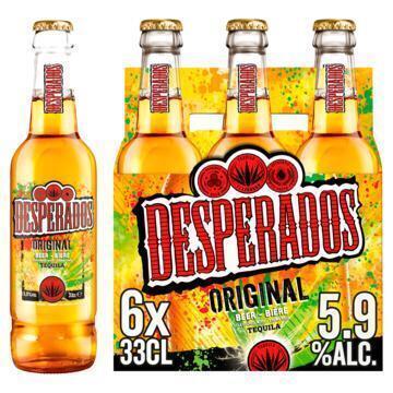 Desperados (rol, 6 × 33cl)