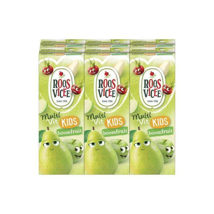 Roosvicee 50/50 kids boomfruit (6 × 200ml)