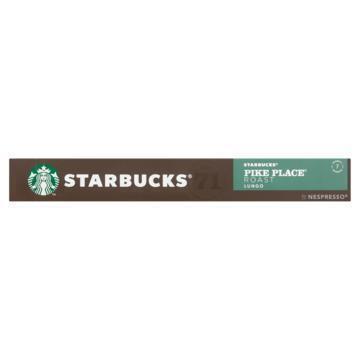 Starbucks® Pike Place® Roast by Nespresso® Medium Roast 10 Capsules (53g)