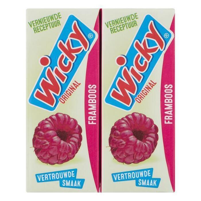 Wicky Original Framboos 10 x 0,20 L (Stuk, 10 × 200ml)