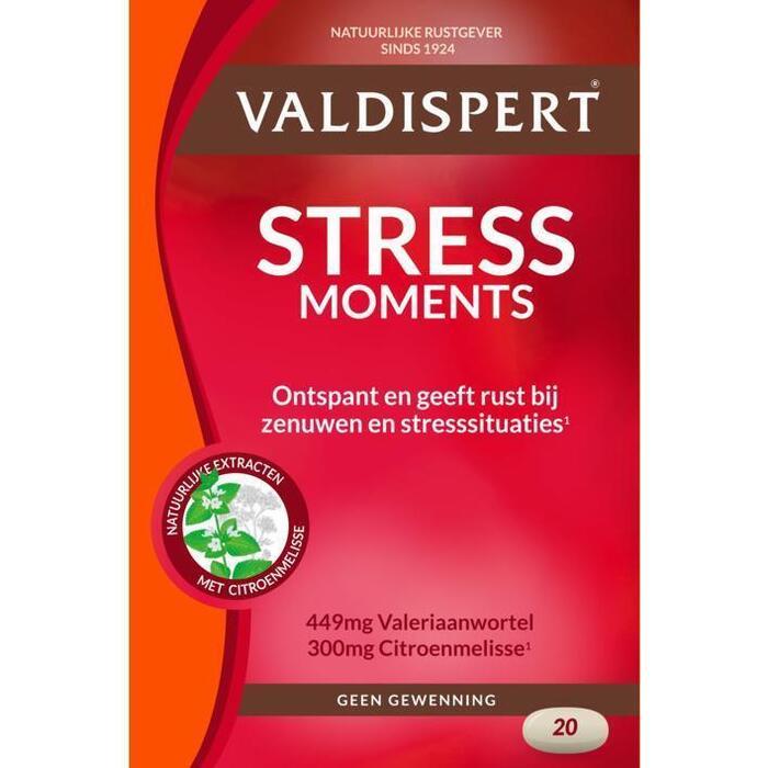 Valdispert Stress moments tabletten (tabletten, 20 st.)