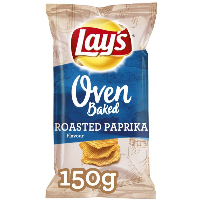 Lays Oven paprika (zak, 150g)
