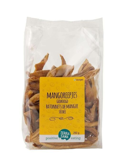 SUPER Mango Reepjes TerraSana 250g (250g)