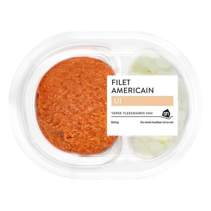 Filet americain met ui (150g)