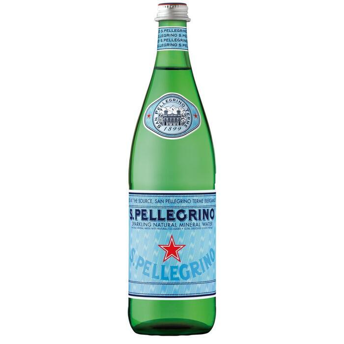 S.Pellegrino mineraalwater koolzuurhoudend (0.75L)