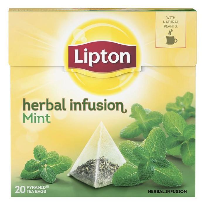 Lipton Thee Mint 20ST 4x (22 × 1g)