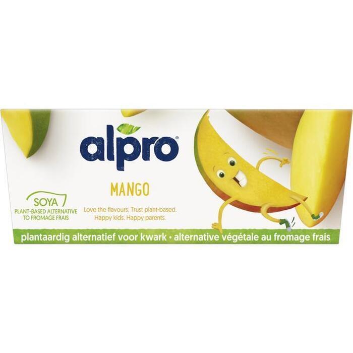 Alpro KidsPlant variatie op kwark mango (4 × 200g)