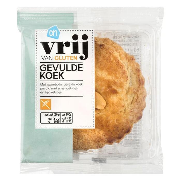 AH Vrij van gluten gevulde koek (60g)