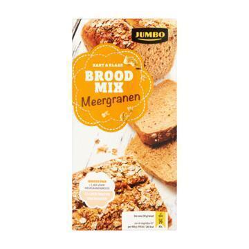 Jumbo Kant & Klaar Broodmix Meergranen 450g (450g)
