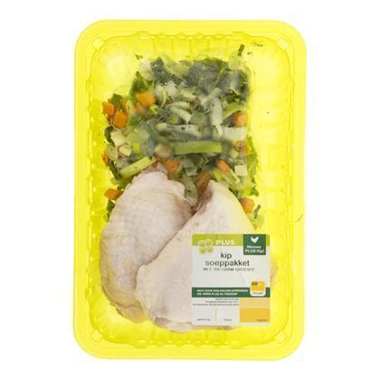 Kipsoeppakket met groenten (630g)