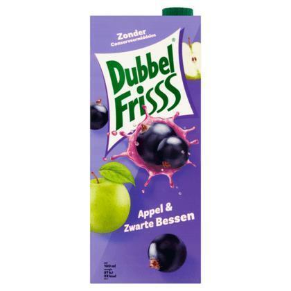 Dubbel Frisss Appel & Zwarte Bessen (Stuk, 1.5ml)