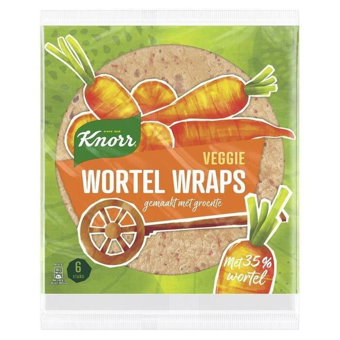 Knorr Groente wrap wortel (370g)