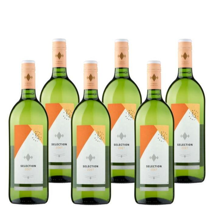 Jumbo Selection - Zoete Witte Wijn - 6 x 1L (1L)