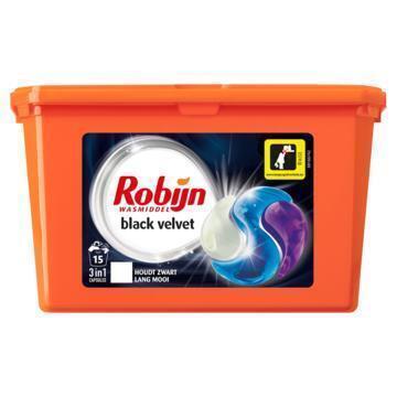 Robijn 3-in-1 capsules black velvet (405g)