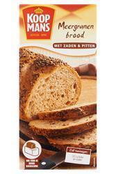 Meergranenbrood met Zaden en Pitten (doos, 450g)