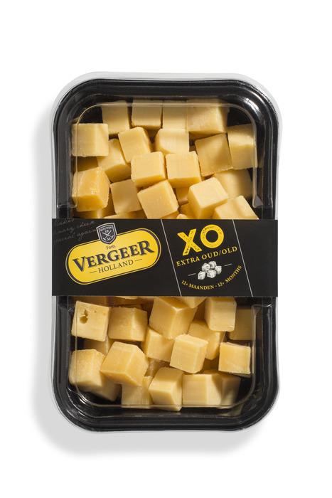 Vergeer Holland Kaas 48+ Kaasblokjes Gouda Extra oud 700g (700g)
