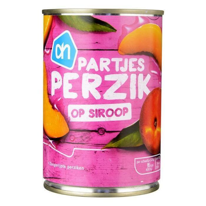 Perzikschijfjes op siroop (blik, 410g)