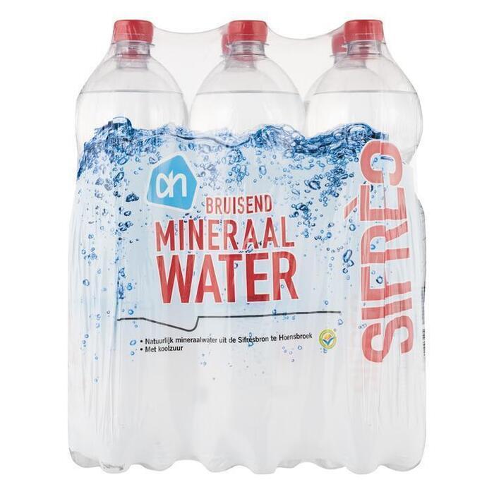AH Mineraalwater koolzuurhoudend (6 × 1.5L)