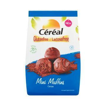 Céréal Glutenfree & Lactosefree Mini Muffins Cacao 7 x 30 g (7 × 30g)