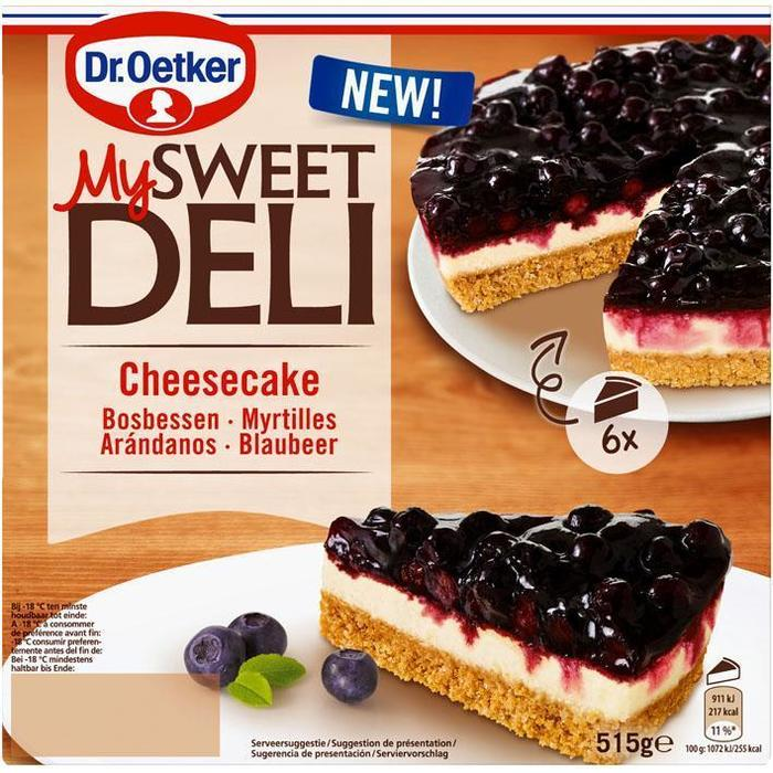 Dr. Oetker Blueberry Cheesecake (515g)