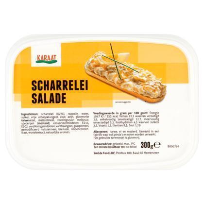 Karaat Scharreleisalade (kuipje, 300g)