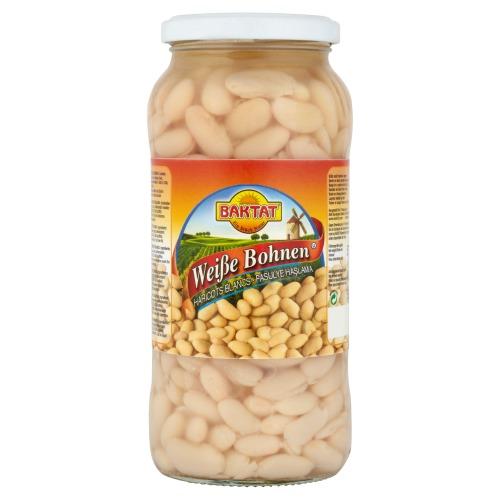 Baktat witte bonen 580 ml. (570g)