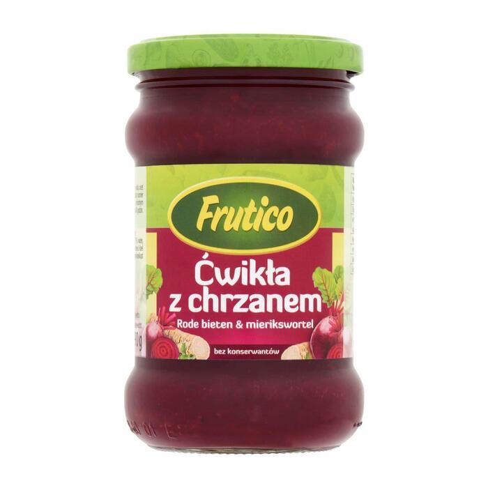 Frutico Rode bieten met mierikswortel (31.5cl)
