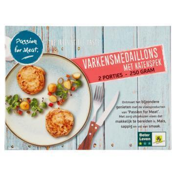 Passion for Meat Varkensmedaillons met Katenspek 250 g (250g)