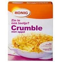 Mix voor appel crumble (340g)