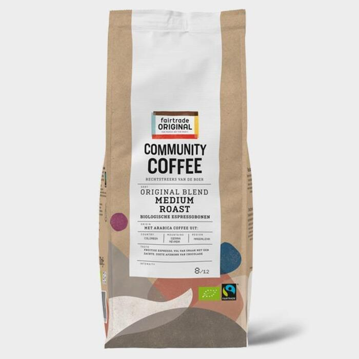 Fairtrade Original Medium roast bonen (500g)