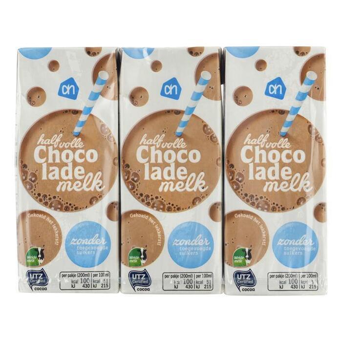 Choc drink light (pak, 6 × 200ml)