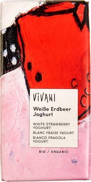 Chocoladetablet wit aardbei-yoghurt (80g)