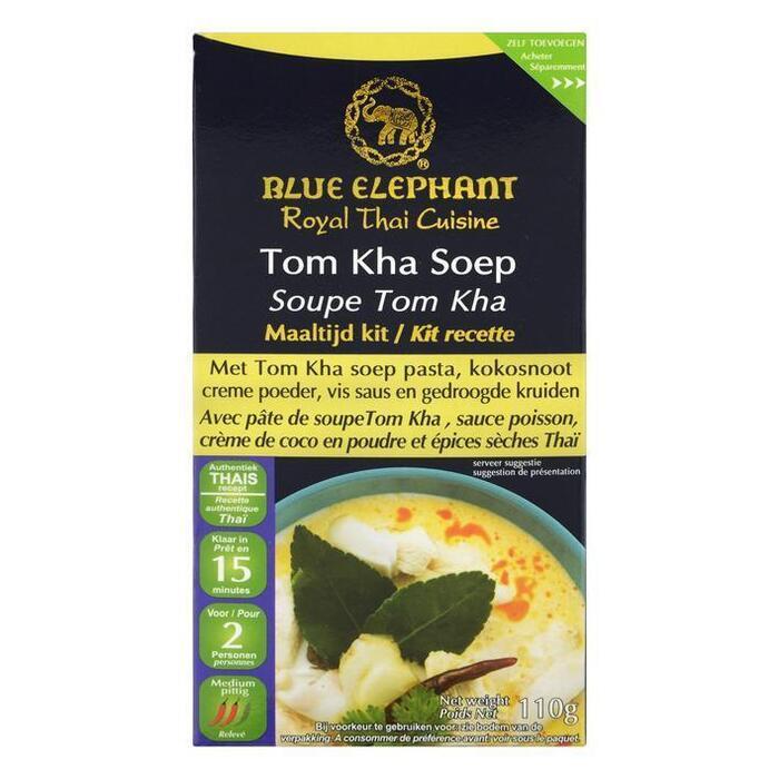 Blue Elephant Tom kha soep maaltijd kit (110g)