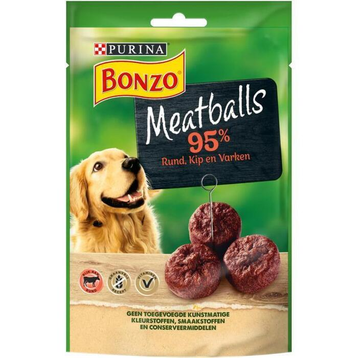 PURINA® BONZO Snacks Meatballs 7 x 70 g (70g)